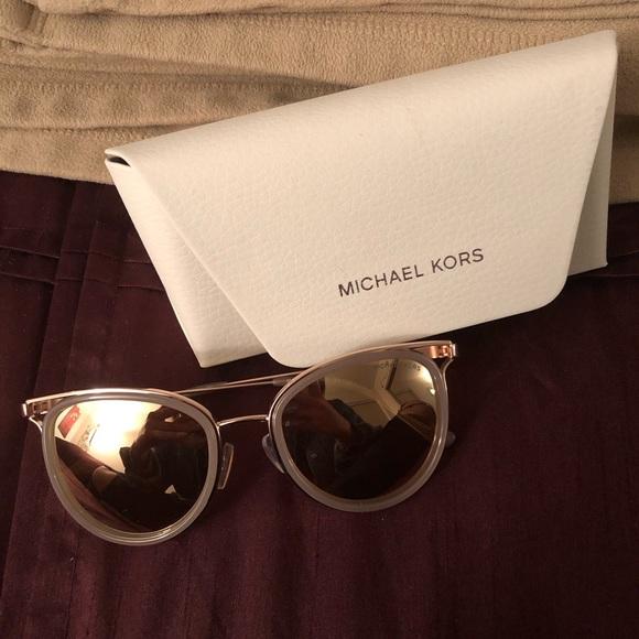 83817ea13 Michael Kors Accessories | Rose Gold Sunglasses | Poshmark